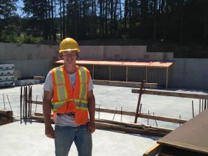 Liam Tausen -YellowRidege Construction New Belmont Hish School